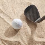 ゴルフ基本テクニック!バンカーショットはボールではなく砂を打つ
