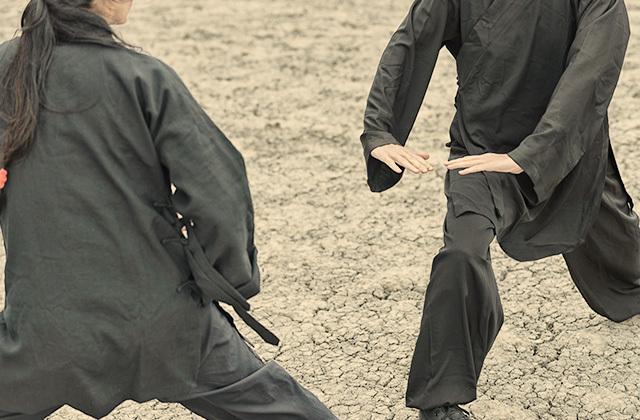 太極拳における組手、推手の基本動作と練習方法