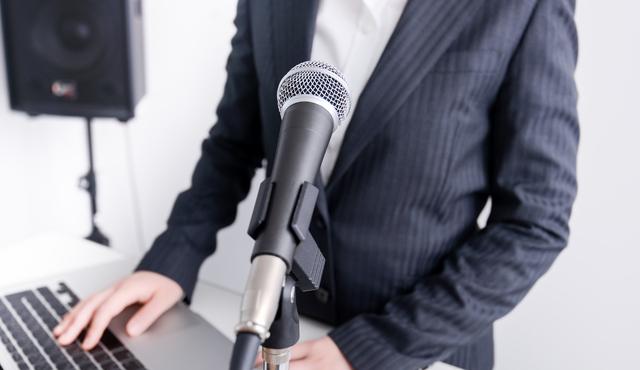 ビジネスマン必見!プレゼンで良い声を出す為にすべきこと