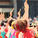 盆踊りや阿波踊りにおける要、和太鼓の基本的な叩き方
