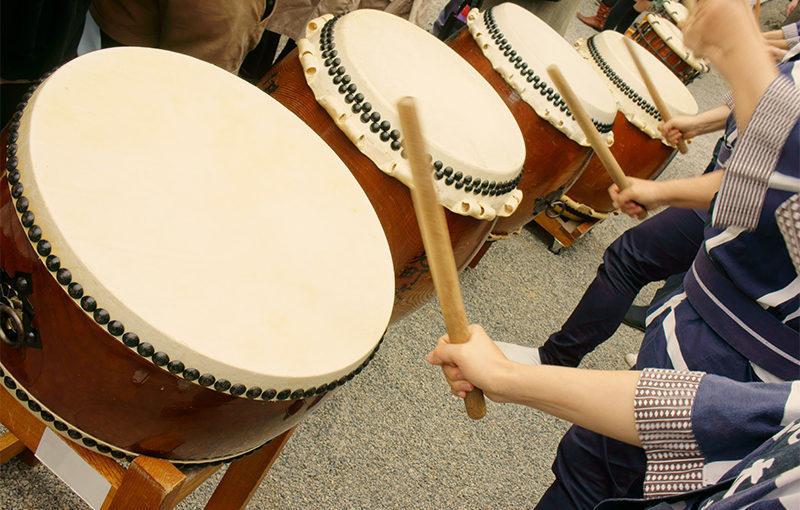 和太鼓は全身運動!健康促進やリフレッシュに最適です